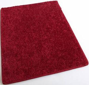 Orchard Mill Real Bright Red 30 oz Cut Pile 1/2″ Thick Indoor Carpet Area Rug