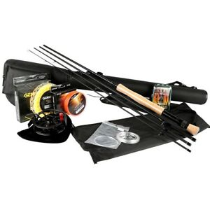 Fly Fishing Kits 2.7m Rods 56 78 Cnc-machined Aluminum Reel Lures Lines Rod