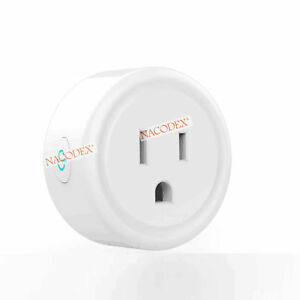 Smart Socket Mini WiFi Plug Outlet Switch For Echo Alexa iOS Android Remote US