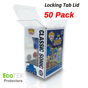 50 Funko POP Acid-Free Crystal Clear Strong Protector case For 4