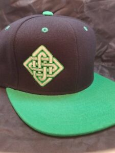 Endless Diamond Snapback Hat sacred geometry 53 hat colors made to order $25.00