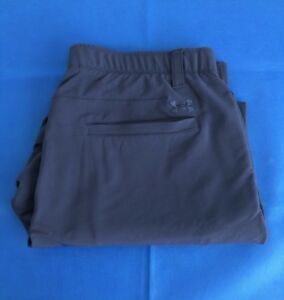 Under Armour Match Play Golf Pants (Navy Blue)  Men's 38 x 30  Pre-Owned