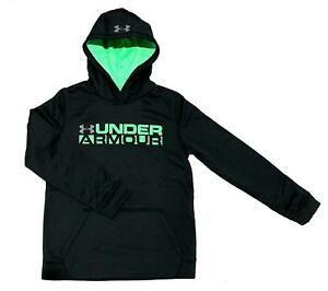 Under Armour Boys Youth Athletic Storm Fleece Hoodie Water Resistant nwt $40