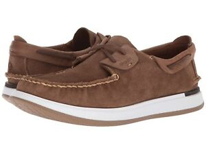 Mens Sperry Caspian Suede Boat Shoes STS17195 Multiple Sizes Tan $109.95