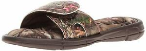 Under Armour Men's Girls' Ignite Camo VII Slide Sandal - Choose SZColor