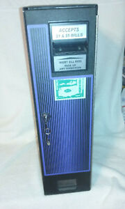 CM 222 CM 100 $1,$2 & $5 Dollar Bill Changer, Complete Working Unit, new lock