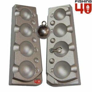 CannonBall Lead Fishing Mould 30-40-60-75g  Fishing Weight Lead Mould