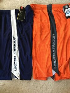 Under Armour Boys XL shorts 2 pair BRAND NEW With TAGS