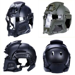 WoSporT HL-97 Tactical G4 System BUMP Helmet Mask Goggle Full-covered