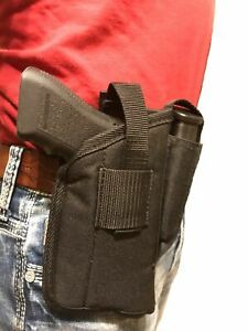 Gun holster For Ruger American 9mm or 45 Front Mounted With Laser