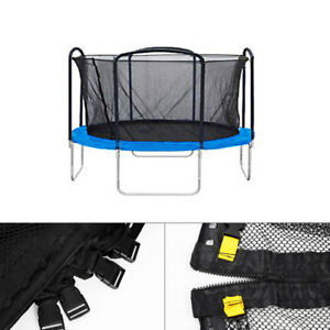 Round Trampoline Enclosure Net Replacement f 12' -15' 34 Arched 68 Pole Fence