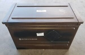 AMMO CAN 11X13.87X20.62 INCH MILITARY SURPLUS GOOD SEALS BROWN 50CAL