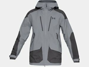 New Under Armour Men's Nimbus GTX Winter Jacket - Small - Steel  Charcoal