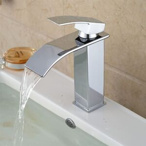 Paita Deck Mounted Single Handle Bathroom Sink Faucet