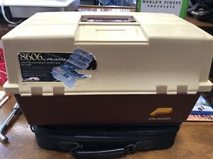 8606 Tackle Box By Plano double sided 6 tray