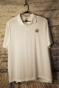 Adidas Climalite Golf Polo Shirt Mens XXL 2XL Miller Light Chill Beer Dry-Fit