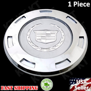 1PC NEW 2007 2014 CADILLAC ESCALADE 22 WHEELS CENTER HUB CAPS PLAIN 9597950