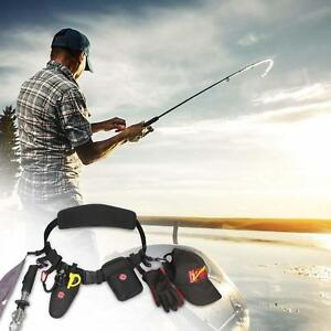 Wading Belt Fishing Fly Belts Brook Trout Fish Lures Pouches Storage Clips Waist