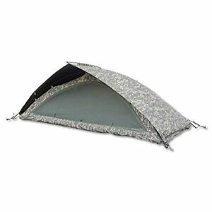 NEW WITH TAGS MILITARY ISSUE IMPROVED COMBAT SHELTER ONE MAN DOME PUP TENT ACU