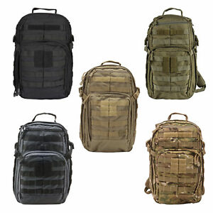 5.11 RUSH12 Tactical Military Backpack Small 24 Liter MOLLE Style 56892