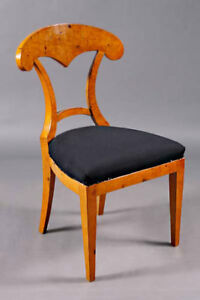 High-Quality Chair in the Viennese Biedermeier Style