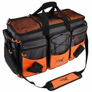 KastKing Fishing Tackle Bags- 3700 Tackle Box - Rip-Stop Nylon