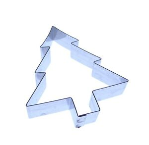 Christmas Tree Cutter - Large or Small -Cake Sugarcraft - xmas - Stainless steel