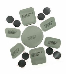 NEW ORIGINAL US ARMY ISSUE - PADS SET (7 PADS) FOR THE ACH  MICH HELMET
