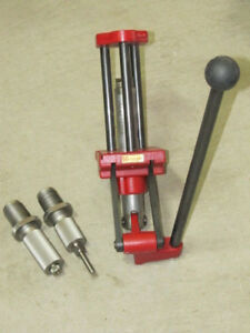 HORNADY 50 BMG Single Stage Lock-N-Load Reloading Press With Dies 085005