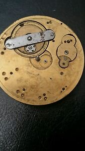 POCKET WATCH ANTIQUE FOR PARTS ONLY