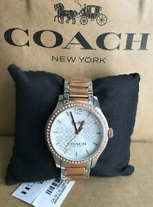 New Coach W6183 Maddy Two Tone Set Bracelet Watch NWT .No Box .🌸