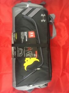 Under Armour x Project Rock Contain Duo+ Backpack Duffel Brahma Bull 1304575 001