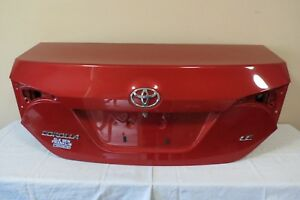 ✅ 14 15 16 17 Toyota Corolla LE Trunk Lid Assembly Camera Option Red NO LOCK OEM