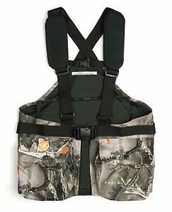 Lucky Bums Youth Turkey Vest Recluse Camouflage One Size (Youth 6-14) Outdoor