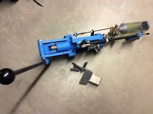 EXCELLENT DILLON RL 550 PROGRESSIVE RELOADING PRESS WITH .38  .357 DIE SET