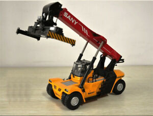 150 Scale SANY Container Front Crane Construction Vehicles Diecast Toy Model