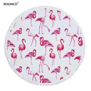 Tropical Large Round Beach Towels