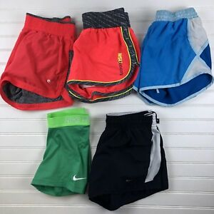 Lot of 5 Under Armour Nike Xersion Champion Womens Running Shorts Size Small