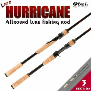 Cheap Fishing Travel Rod Carbon Spinning Casing 3 Sections 4 Sizes