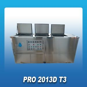 Ultrasonic Cleaning Machine Pro 2013DT3 Wash-Rinse-Dry system Christmas Special