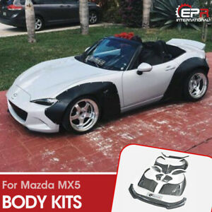 For Mazda MX5 ND5RC Miata Roadster ND bodykits Carbon RB Style Wide Body Kit