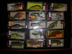 VINTAGE COTTON CORDELL FISHING LURES NEW OLD STOCK MINT UNFISHED BAITS AND BOXES