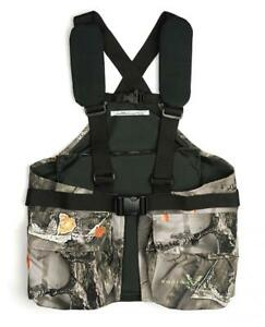 Lucky Bums Youth Turkey Vest One Size Recluse Camouflage