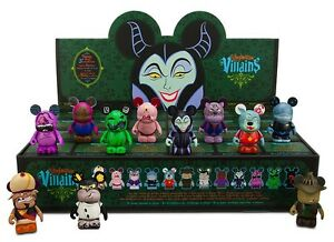 Disney Vinylmation Villains Series 4 Individual Boxes 24 Pc Maleficent Sealed
