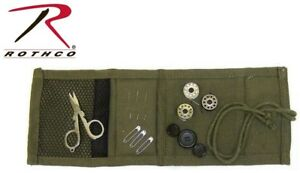 Olive Drab Military Style Sewing Kit With Contents Rothco 1123 $5.98