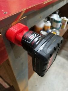 2 pack of 3d printed Milwaukee M12 Battery Mounts
