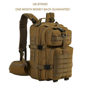 Tactical Backpack Assault Hunting Survival Military Army Hiking Bug Out Bag New