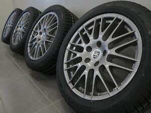 20 Inch Original Winter Wheels Porsche Cayenne 958 7P Rs Spyder Design (A250)