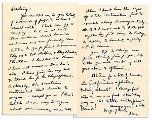 Dwight Eisenhower WWII Letter Signed as Europe Commander