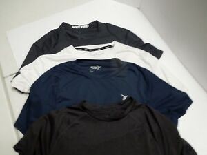 Lot Of 4-Dry-fit Shirts Size Mens Small Nike Champion Tekgear and Old Navy
